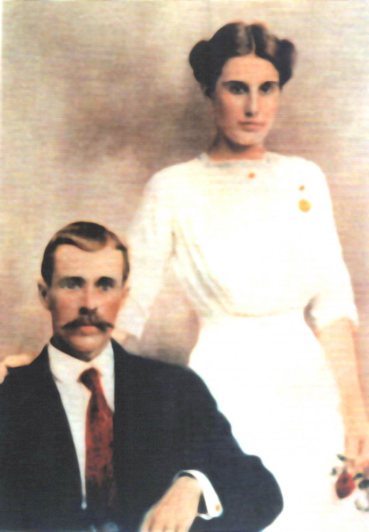 John Henry Roakes and Hattie Scott marry on May 5, 1912