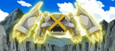 Shiny metagross angry