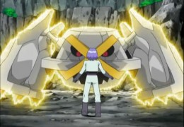 Shiny metagross meets James