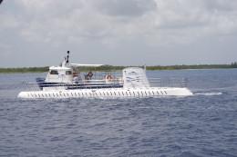 Approaching Atlantis submarine
