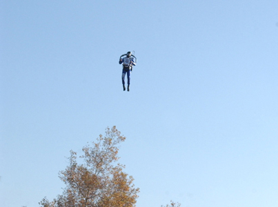 Man With Jet Pack