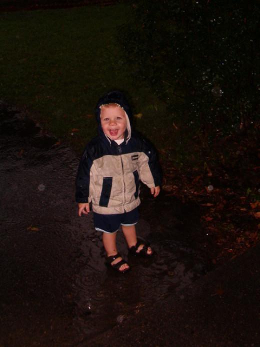 Rainy days can be fun!
