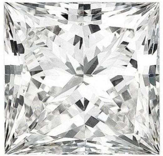 Lab-created, 1.21 Princess Cut Diamond. Price? Approx 4k.