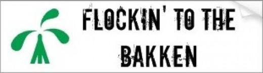 Flockin' to the Bakken Bumper Sticker