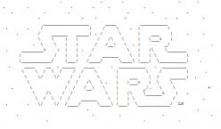 Star Wars in ASCII Text Art