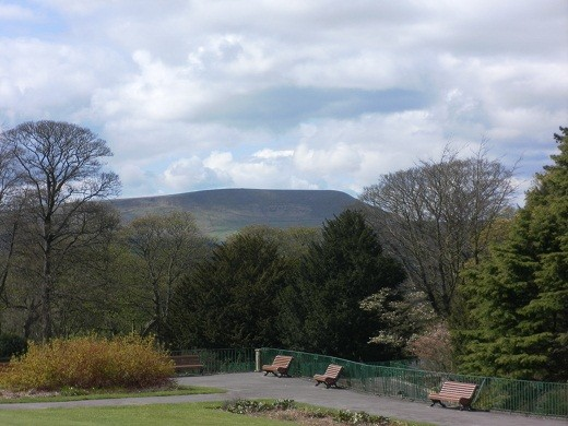 Pendle from Marsden Park, Nelson