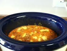 Chorizo Dip cooking.