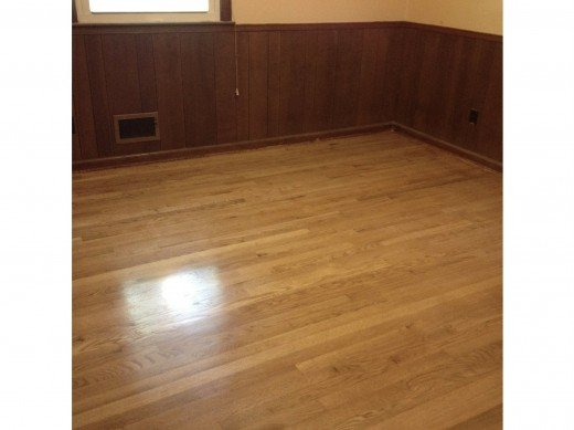 "We refinished this 52 year old hardwood floor the ""wrong"" way and got beautiful results."