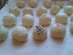 lemon cake Truffles
