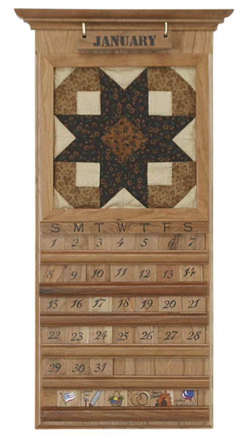 Amish Quilt Calendar