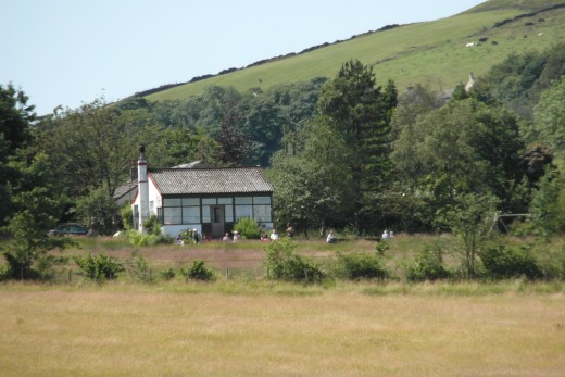The Clarion Tea House from Jinny Lane