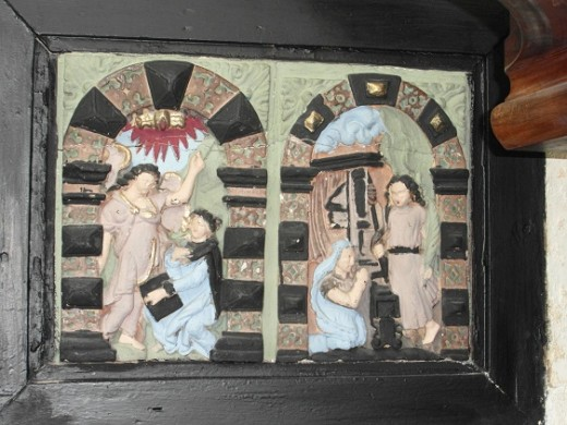 decorative fresco