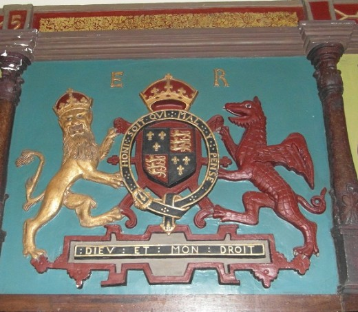 Heraldry at Samlesbury Hall