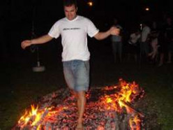 Hot Coals Burned 21 People Who walked Tony Robbins' Fire-Pit!