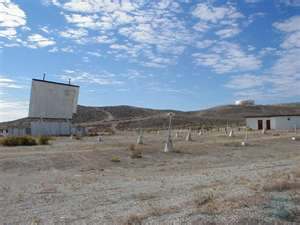 Drive-in theater in Weed Heights, Nevada