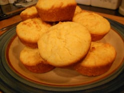 How to make Gluten Free Cornbread Muffins