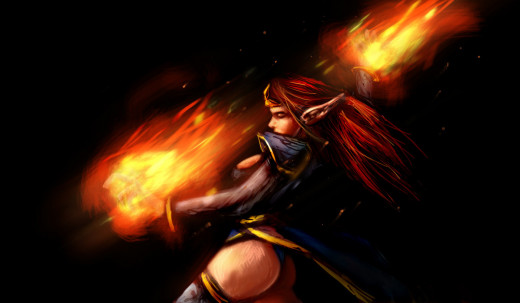 Lina Inverse in Action