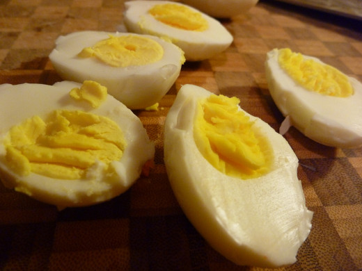 Simple boiled eggs are a perfect balanced snack to stabilize your blood sugar