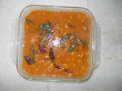 kabooli chana masala stew