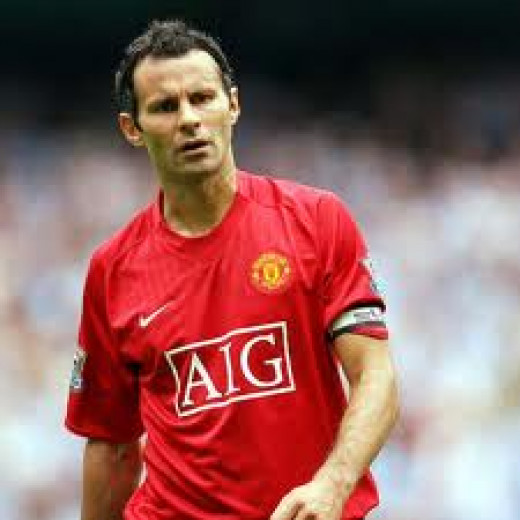 Team GB football captain Ryan Giggs