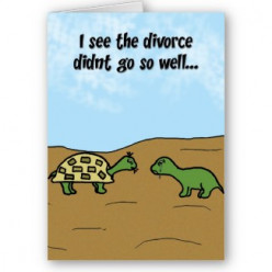 Divorce Greeting Cards ~ Hurdles Greetings