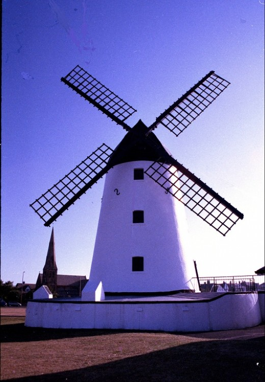 The windmill at Lytham