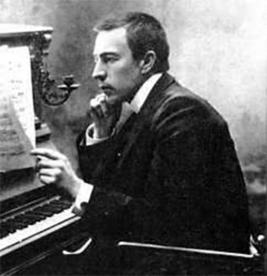 Russian pianist / composer Sergei Rachmaninoff