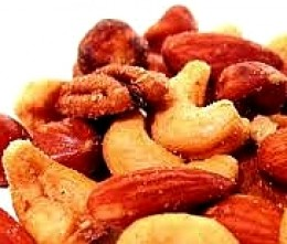 Nuts are a great healthy snack food - just watch the fat content