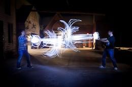 Battle of the Light Painters