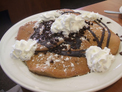 Easy Chocolate Chip Pancakes -- Quick Decadent and Sinfully Delicious