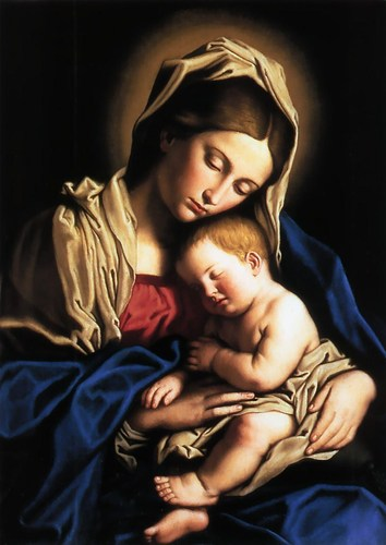 Holy Mary and child.