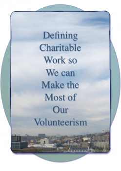 Defining Charitable Work