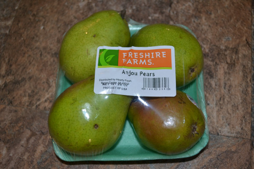 Pears from Aldi