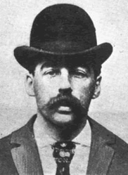 H.H. Holmes Serial Killer from the Chicago World's Fair (Devil In A White City)