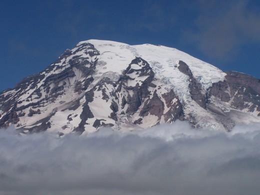 No, it's not Mt. Rainier