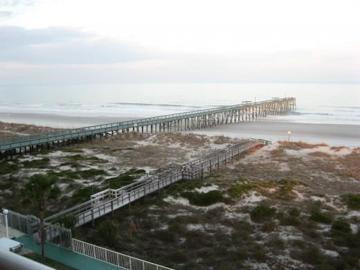 One reason we prefer beachfront condos: the view.
