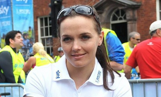 Victoria Pendleton, one of the most succesful British female cyclists of all time