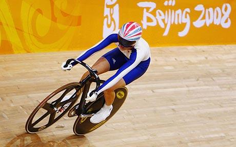 Miss Pendleton races to victory at the Beijing Olympics in 2008