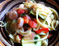 Easy Healthy Shrimp Pasta Recipe- Together in 30 Minutes!