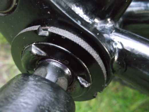 Bottom Bracket detail picture.