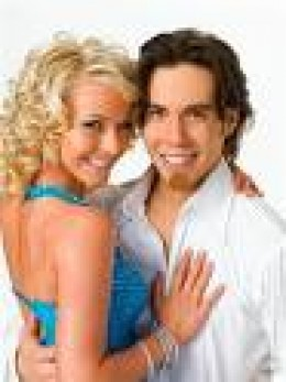 Apolo Anton Ohno & Julianne Hough