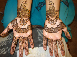 Henna tattoos are a distinctive form of temporary long lasting tattoos