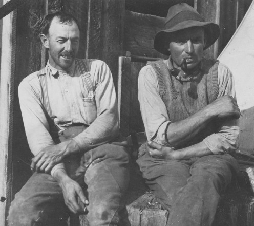 Brothers who made the greatest impact of successful farming at Guisachan.