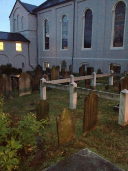 Cemetery at St. George's Episcopal Church