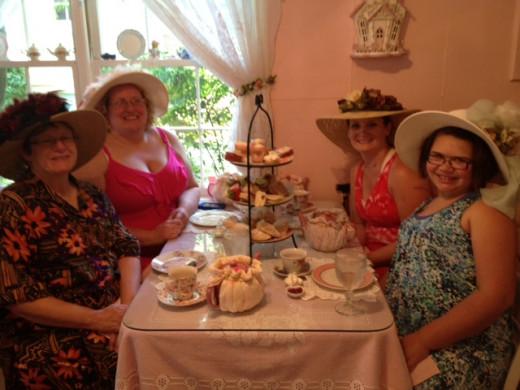 """""""Queen Elizabeth"""" High Tea for 3 generations"""