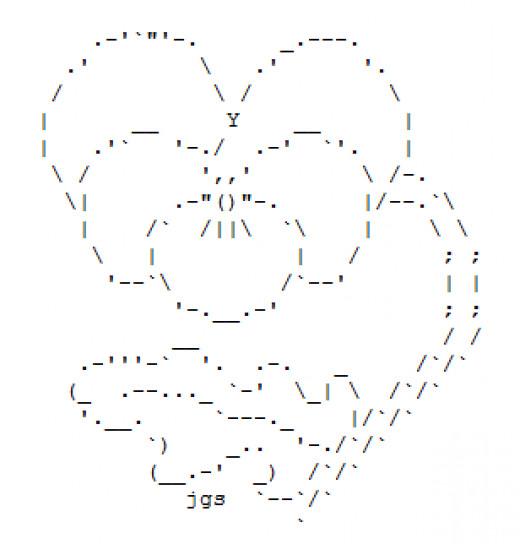 One Line Ascii Art Hearts : Ascii hearts and flowers auto design tech