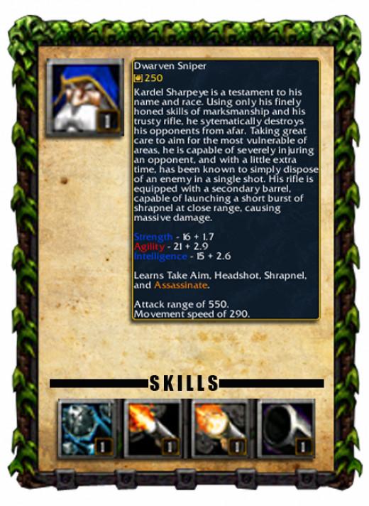 Dwarven Sniper Profile