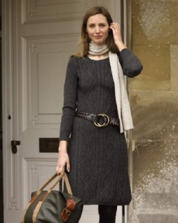 Cable Sweater Dress  Price: $188.00