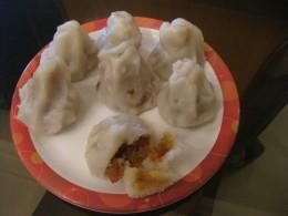 Enjoy these sweet dumplings!