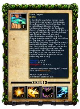 Faerie Dragon Profile